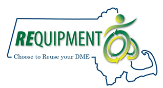 REquipment logo: Choose to Reuse your DME.